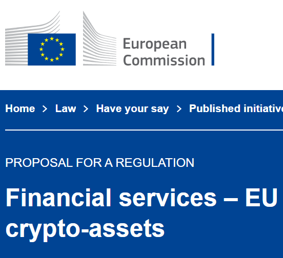Blockchain for Europe responds to the European Commission consultation on an EU framework for crypto-assets