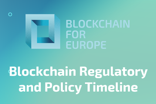 Blockchain Regulatory and Policy Timeline