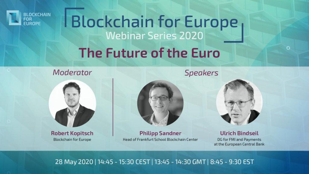 Blockchain for Europe Webinar: The future of the euro