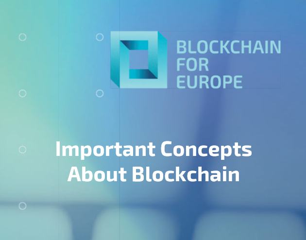 BC4EU – Important Concepts About Blockchain