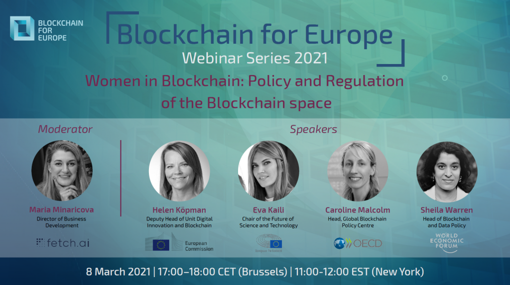 Webinar Series 2021 – Women in Blockchain: Policy and Regulation of the Blockchain Space